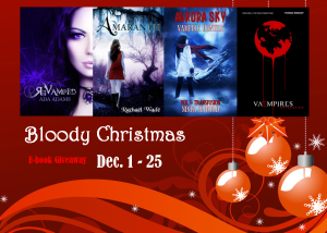 Bloody Christmas Giveaway